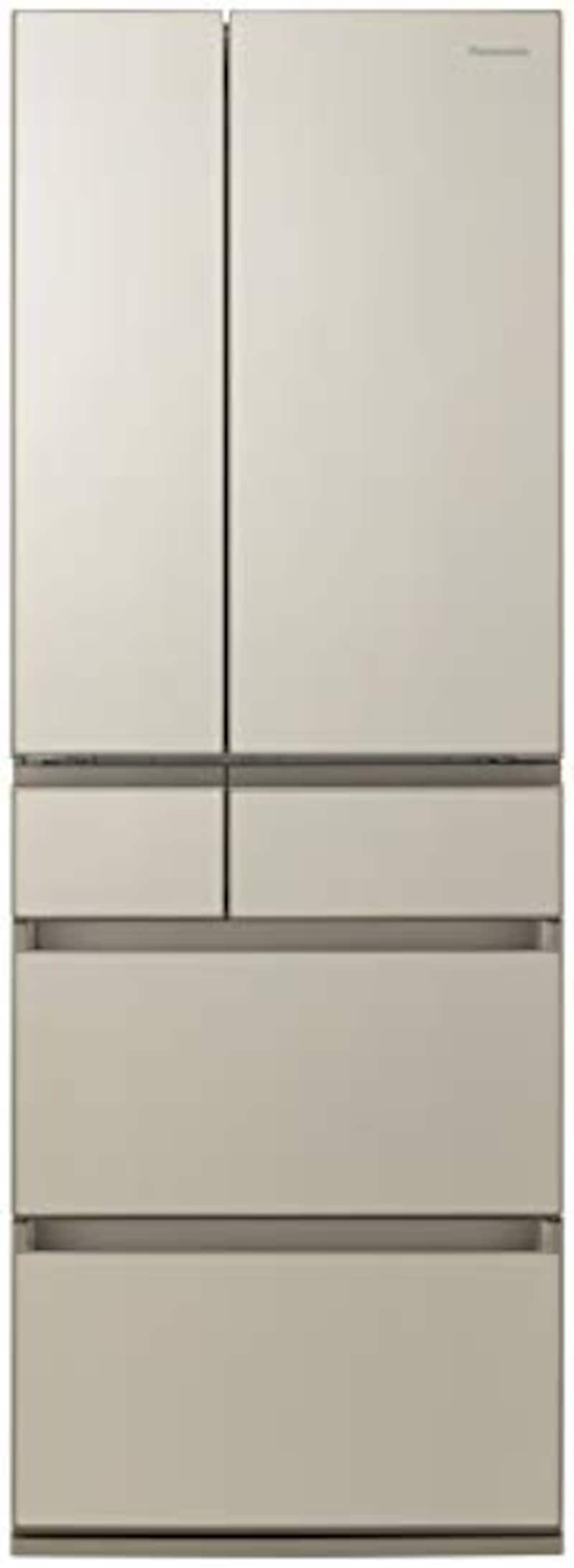 Panasonic(パナソニック),6ドア冷蔵庫 サテンゴールド, NR-F507PX-N