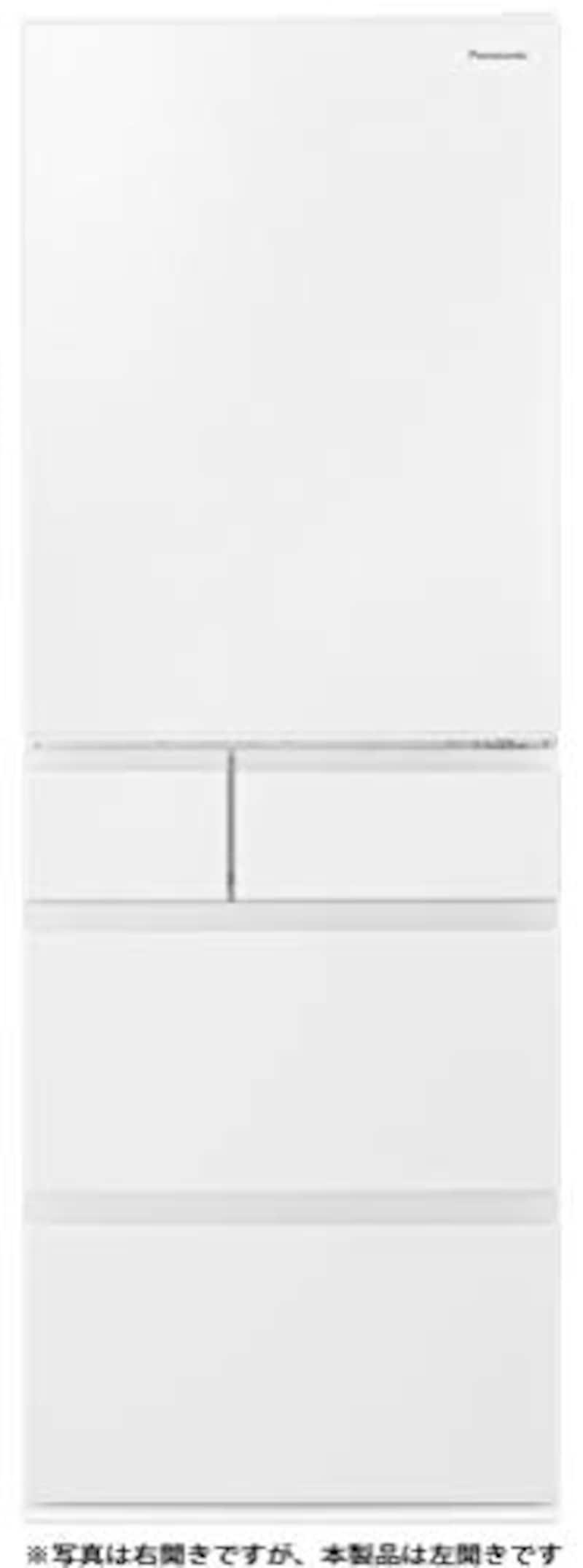 Panasonic(パナソニック),5ドア冷蔵庫 ハーモニーホワイト,NR-E507EXL-W