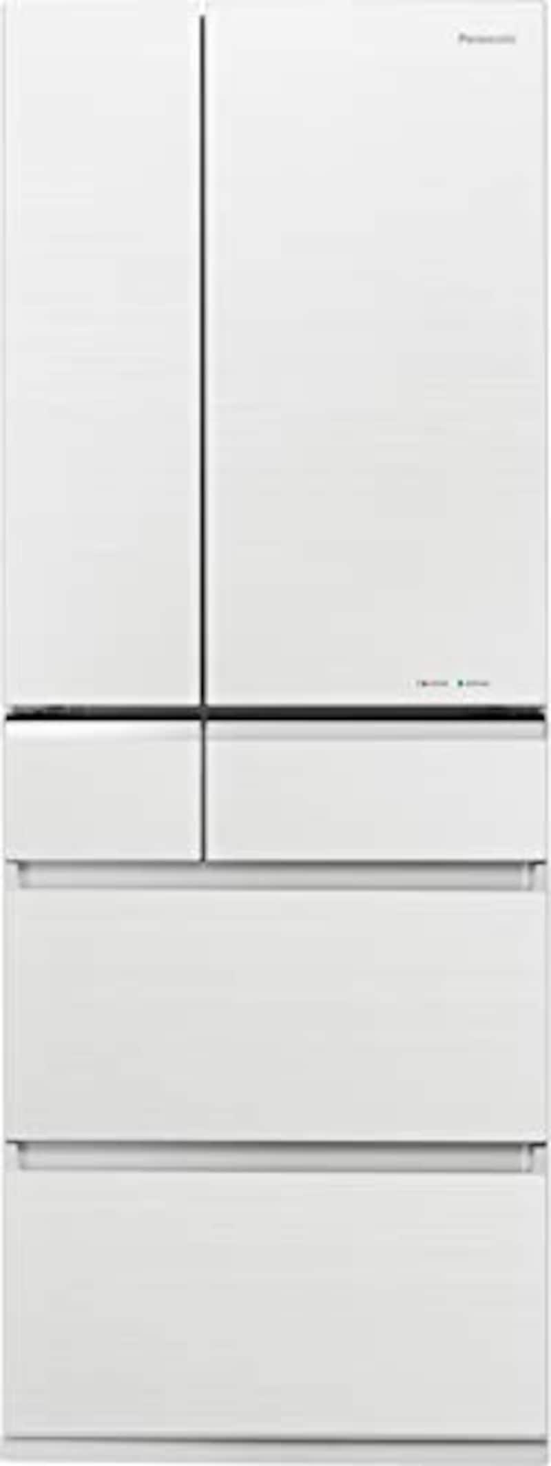 Panasonic(パナソニック),6ドア冷蔵庫 マチュアホワイト, NR-F506XPV-W