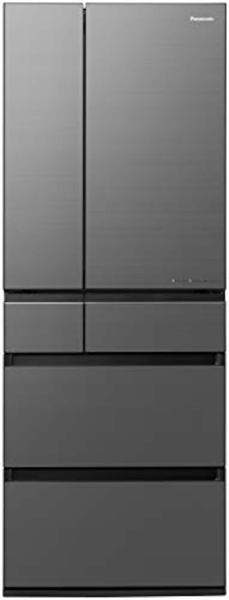 Panasonic(パナソニック),IoT対応6ドア冷蔵庫 ミスティスチールグレー,NR-F607WPX-H
