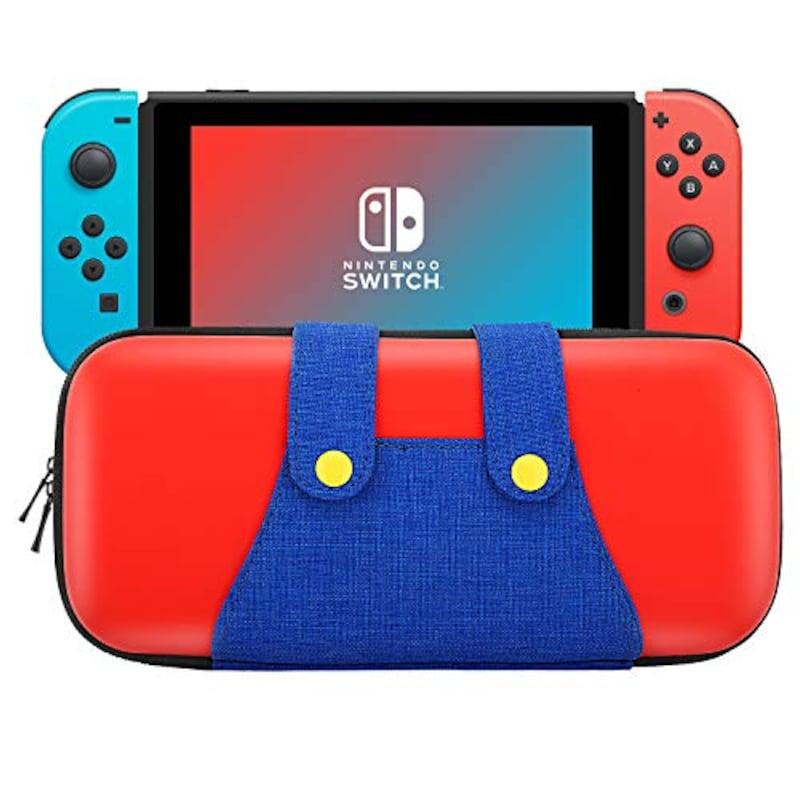 ATiC,Nintendo Switchケース ATiC 任天堂 ニンテンドースイッチ 収納バッグ