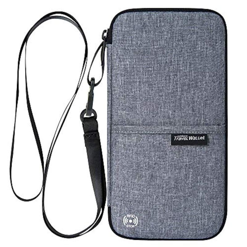 Evershop,スキミング防止 パスポートケース