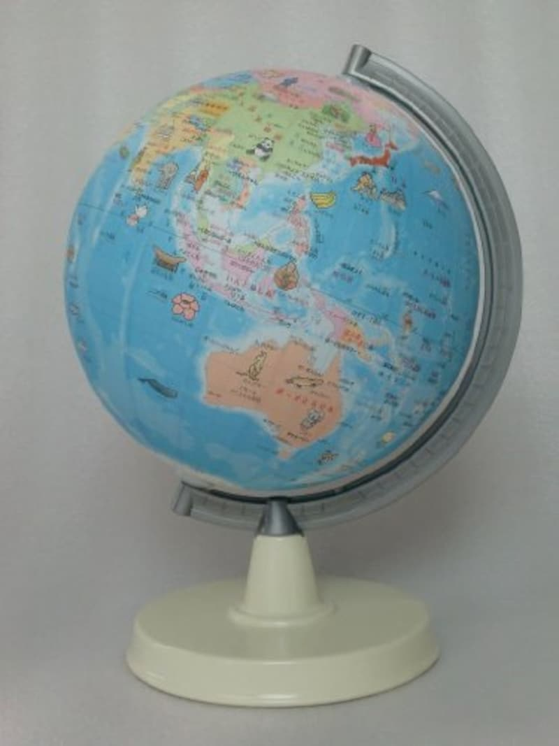 昭和カートン,絵入りひらがな地球儀,21-HPP-L