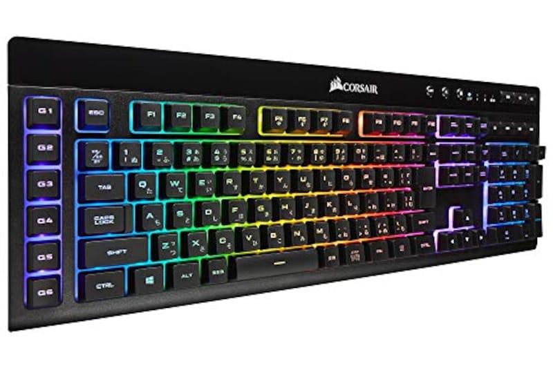 Corsair ,K57 RGB WIRELESS 日本語配列 ゲーミングキーボード,CH-925C015-JP