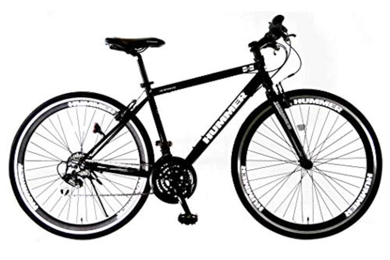 HUMMER(ハマー),クロスバイク シマノ18段変速 Vブレーキ