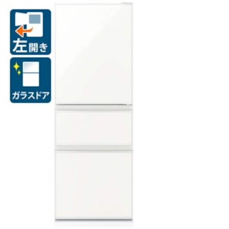 MITSUBISHI(三菱電機),CGシリーズ 3ドア冷蔵庫,MR-CG33FL-W