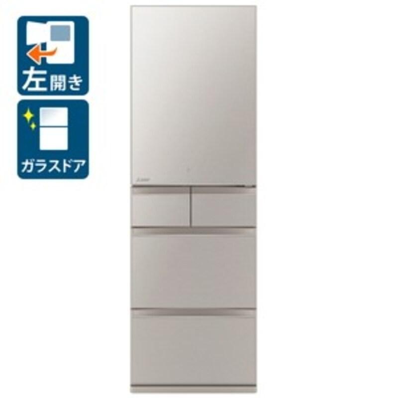 MITSUBISHI(三菱電機),置けるスマート大容量 MBシリーズ 5ドア冷蔵庫,MR-MB45GL-C
