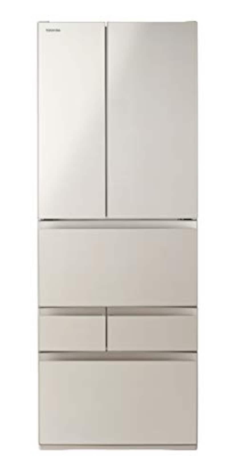 TOSHIBA(東芝),6ドア冷蔵庫 VEGETA(ベジータ),GR-S550FH-EC
