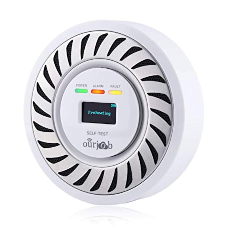 ourjob,一酸化炭素警報機,OJB-CO701-W