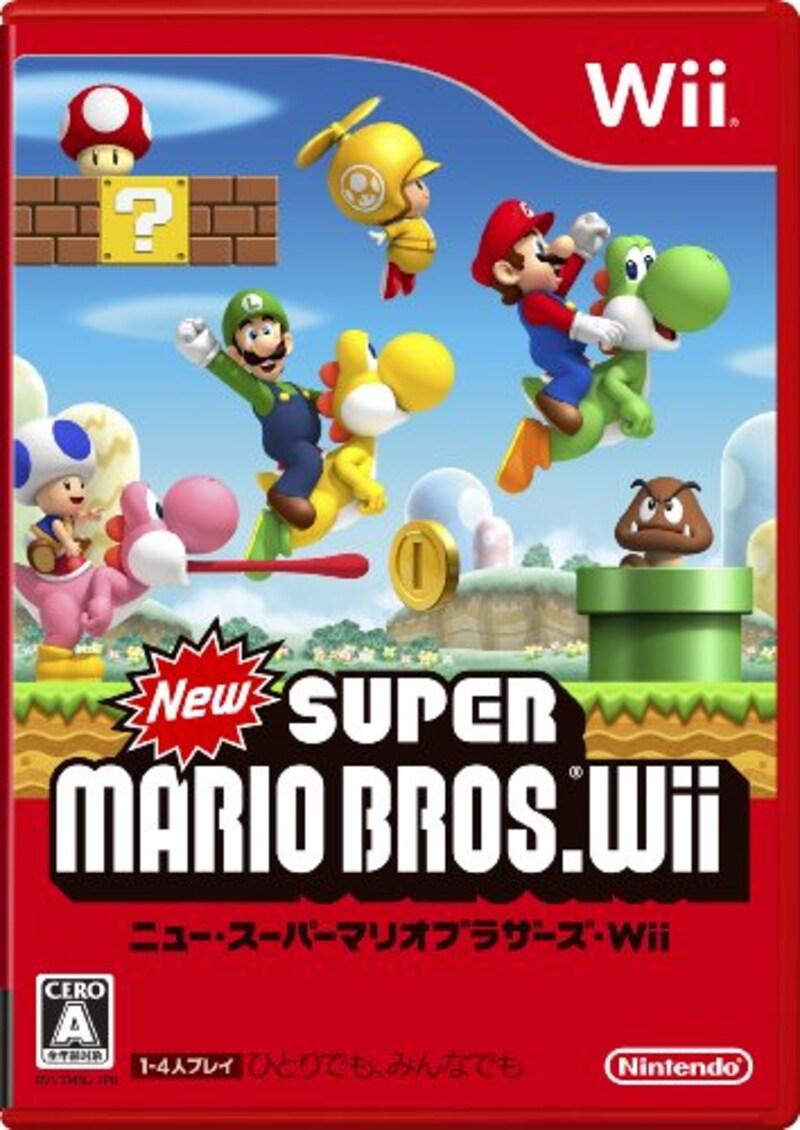 任天堂,New スーパーマリオブラザーズ Wii