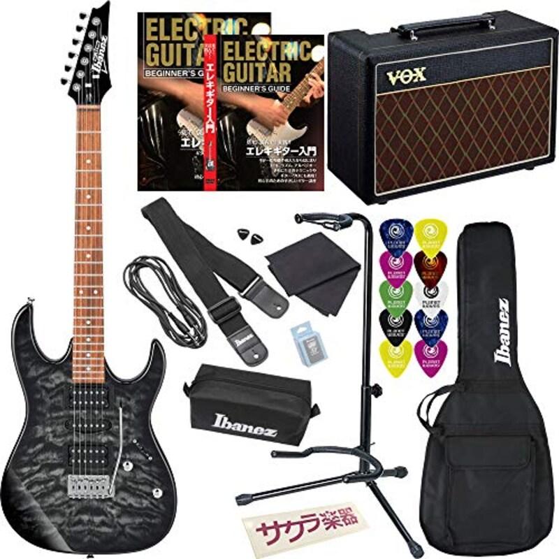 Ibanez,GRX70QA/TKS ギター入門VOXアンプセット