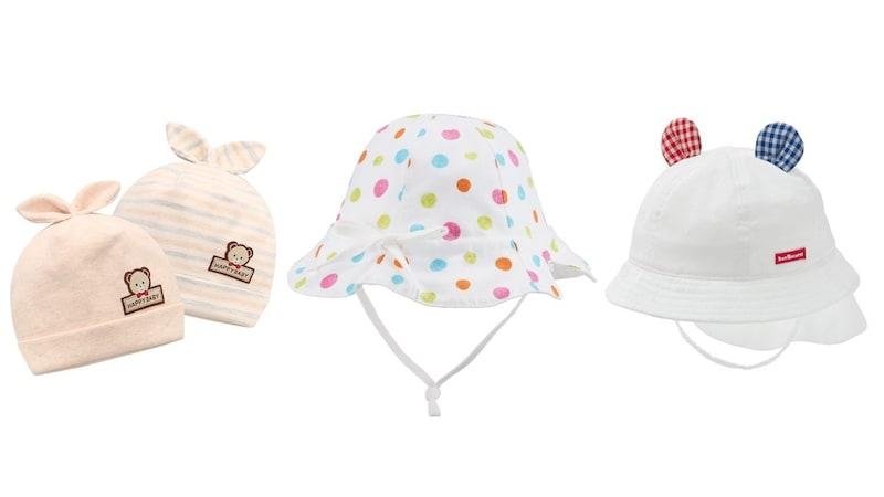 赤ちゃん用帽子おすすめ人気ランキング10選|夏の陽射しや冬の寒さから対策に!おしゃれでサイズ調整できるものが◎