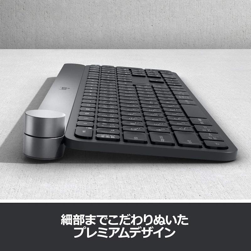 Logicool(ロジクール),bluetooth ワイヤレスキーボード,KX1000s