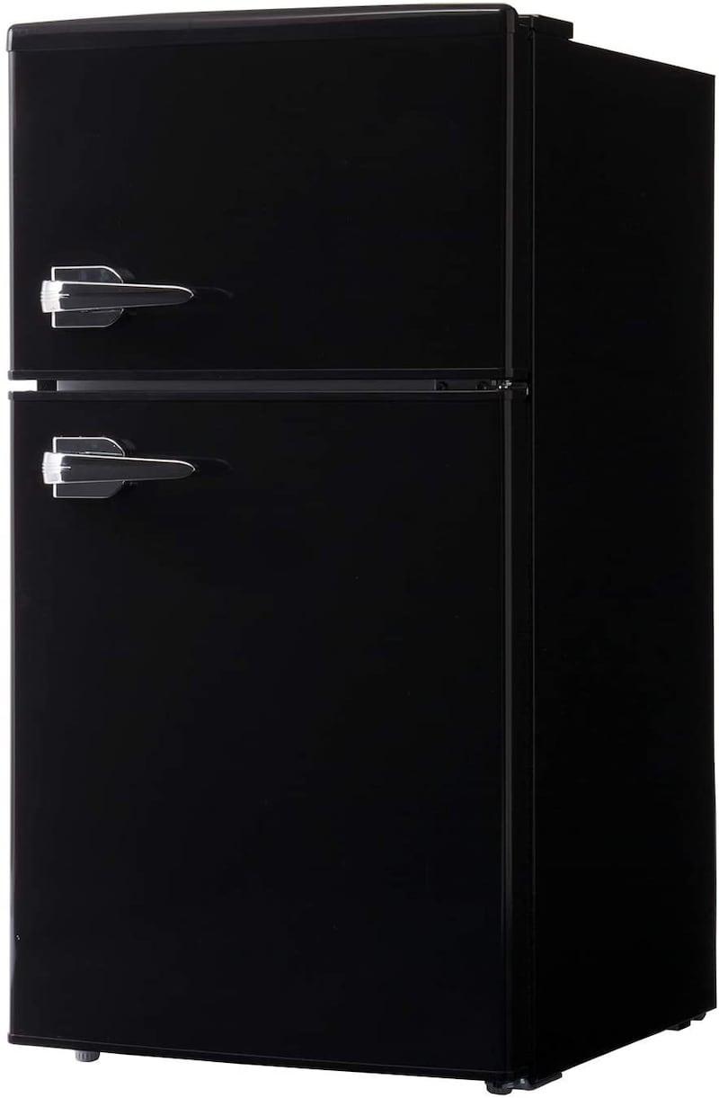 ジェネレーションパス,simplus シンプラス 2ドアレトロ冷蔵庫,SP-RT85L2