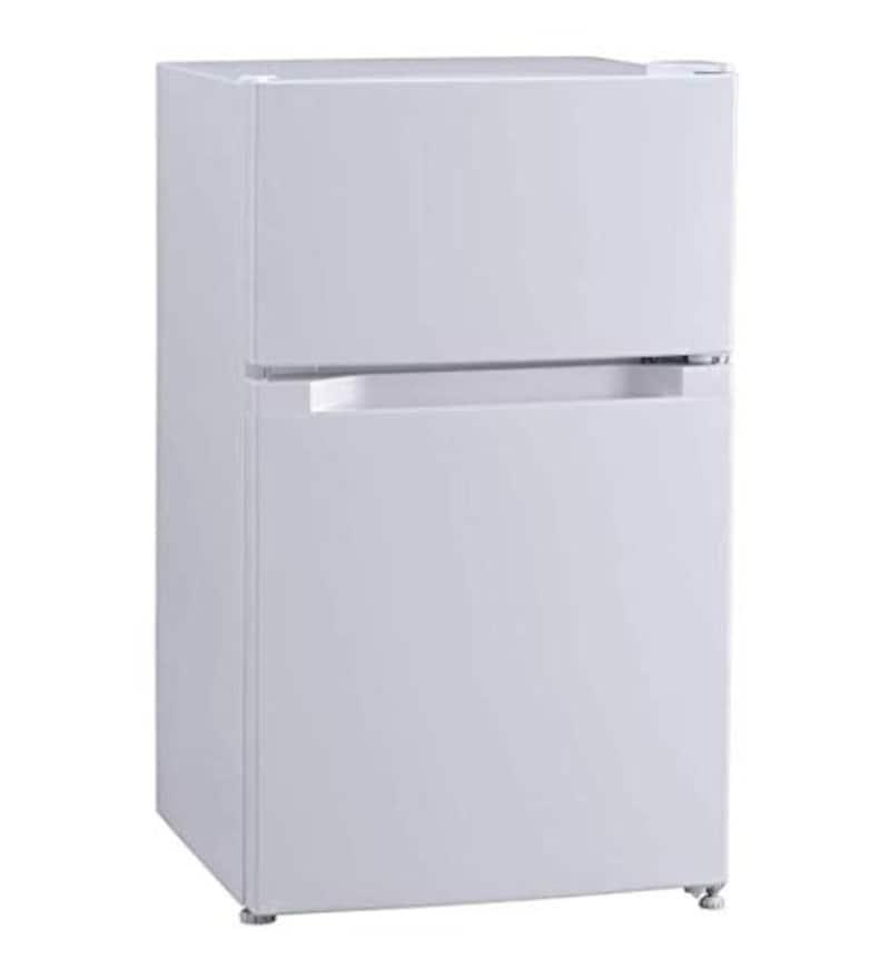 IRIS PLAZA(アイリスプラザ),2ドア 冷蔵庫 87L,PRC-B092D-W