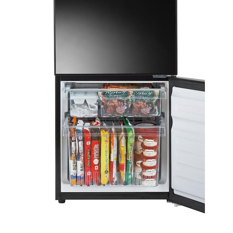 ツインバード工業(Twinbird),Mirror Design 2ドア冷凍冷蔵庫,HR-FJ11B