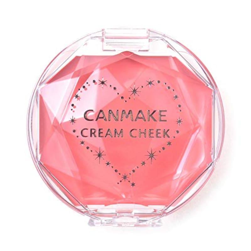 CANMAKE(キャンメイク),クリームチーク07コーラルオレンジ