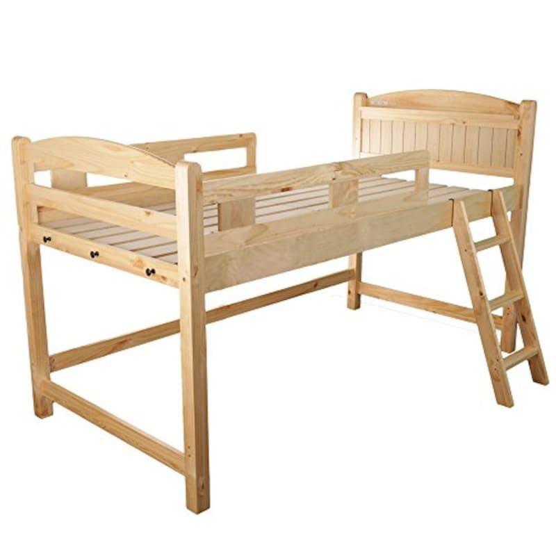 インテリアオフィス・ワン,木製ロフトベッド