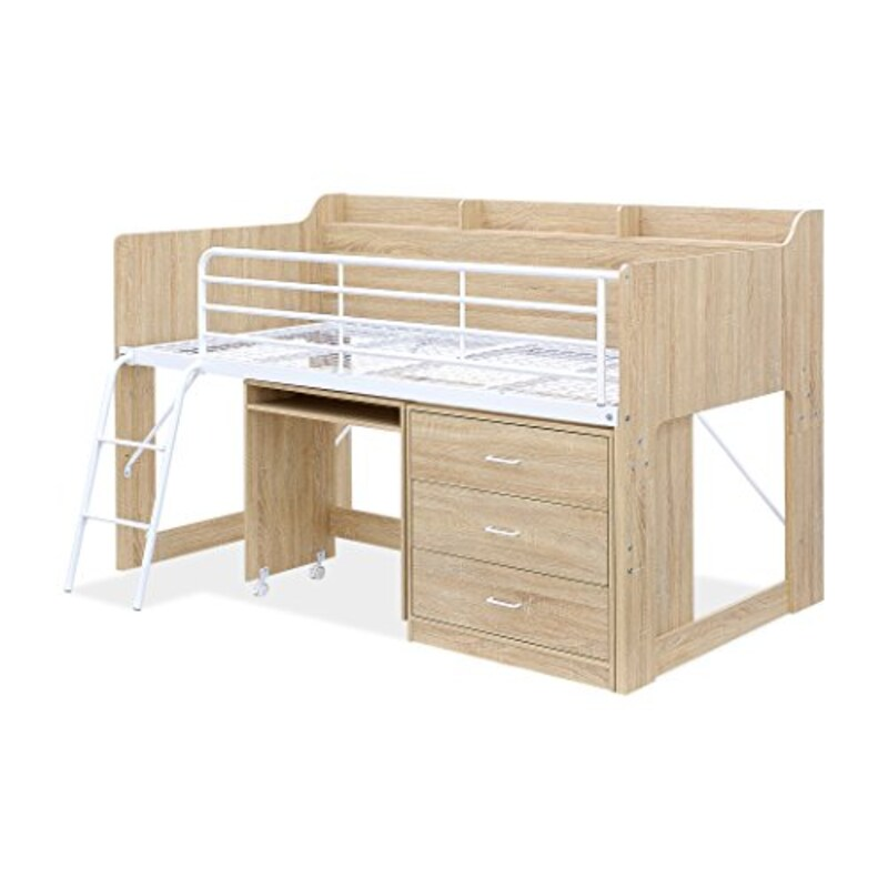 smart-i,コンパクト木製システムベッド
