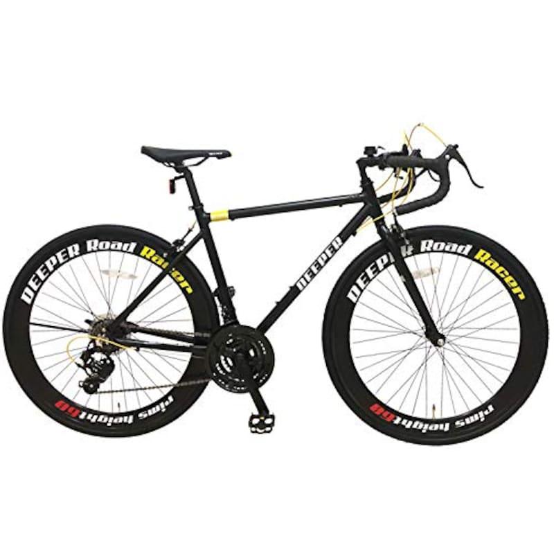 DEEPER(ディーパー),ロードバイク 軽量アルミフレーム,DE-3048AL60
