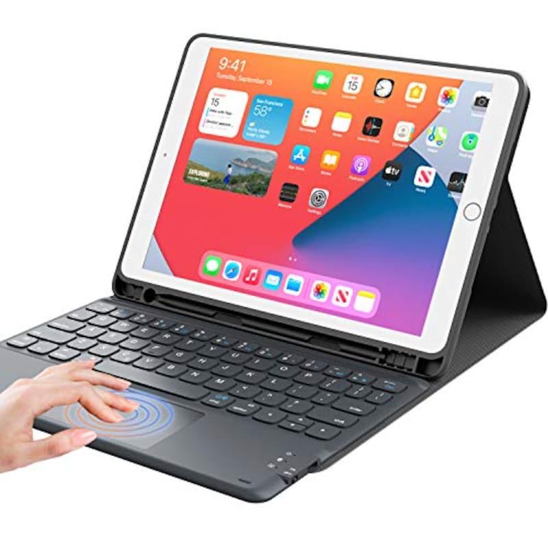 GreenLaw,iPad 8世代 キーボード ケース タッチパッド付き