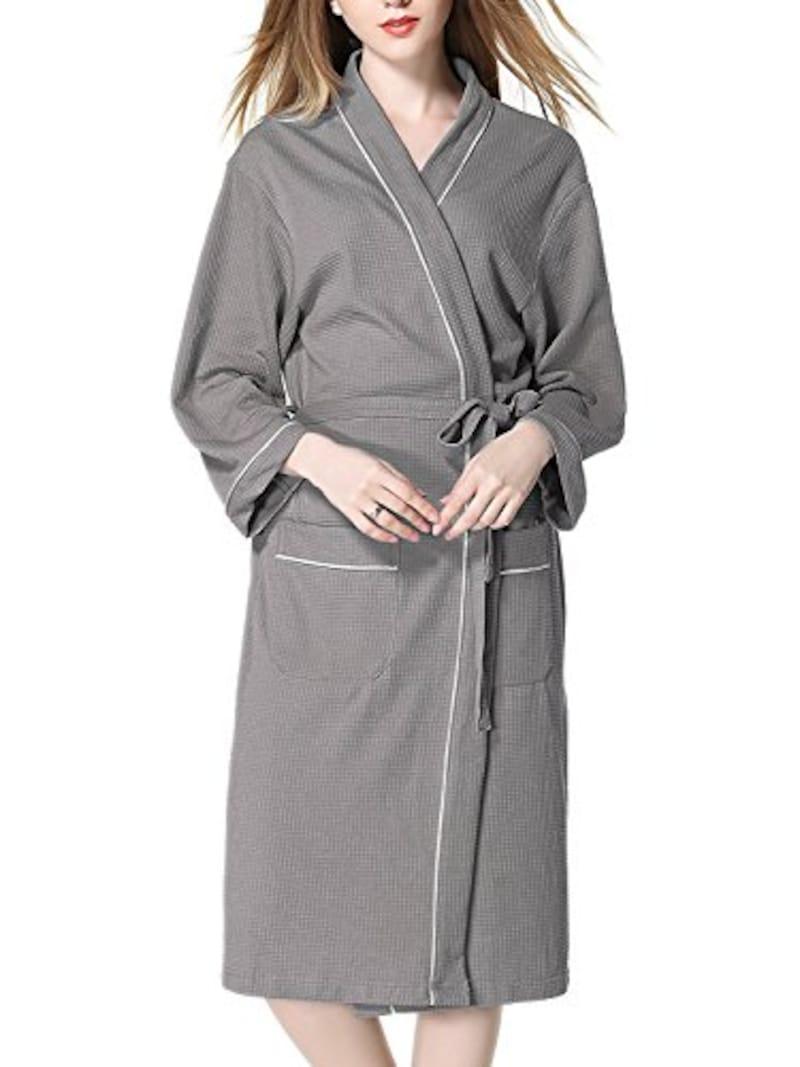 Imocrico(イモクリコ),お風呂上りにサッと羽織れる バスローブ