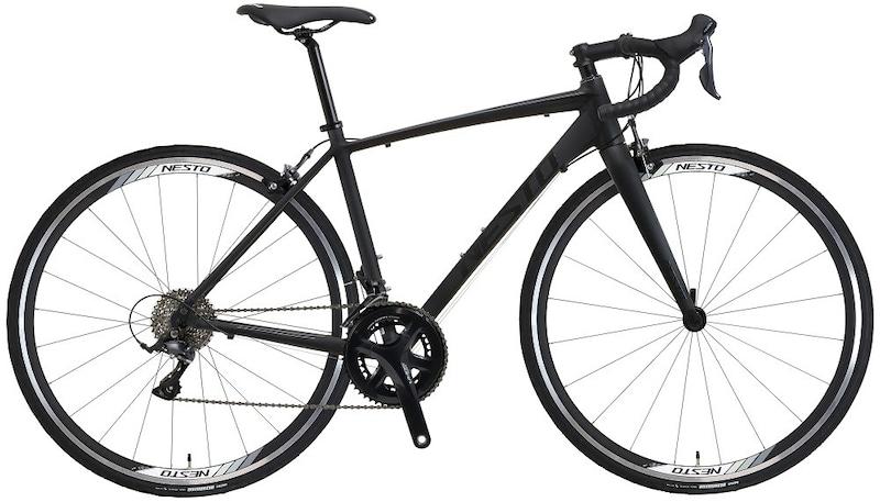 NESTO(ネスト) ,ロードバイク ALTERNA マット ブラック 500