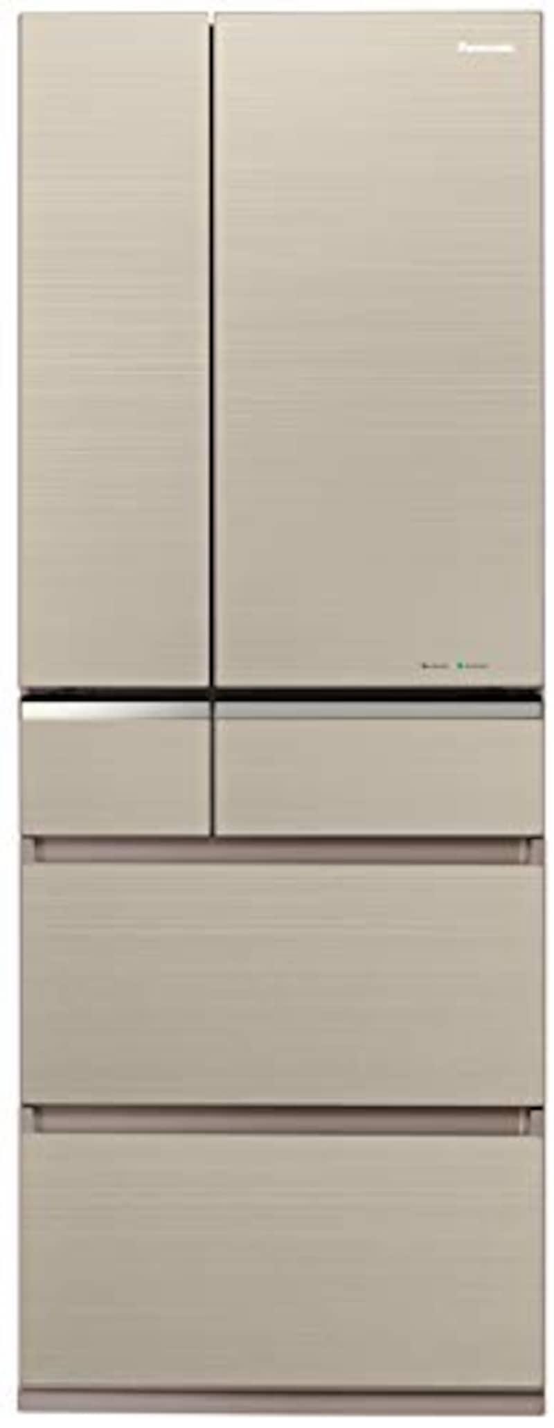 Panasonic(パナソニック),冷蔵庫 6ドア 501L,NR-F505XPV-N