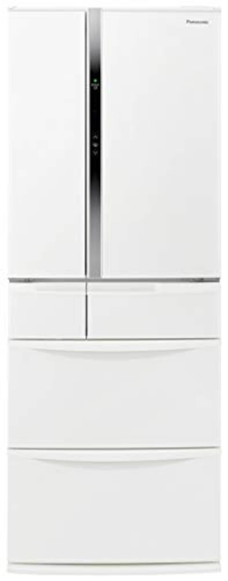 Panasonic(パナソニック),6ドア 冷蔵庫 451L,NR-FVF456-W