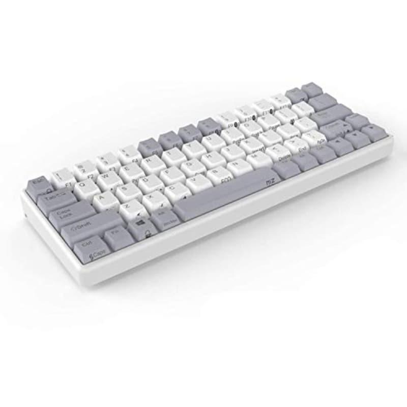 AKEEYO,NiZ Keyboard Atom66 White EC−Bluetooth 35g,ATOM66-DM-35G