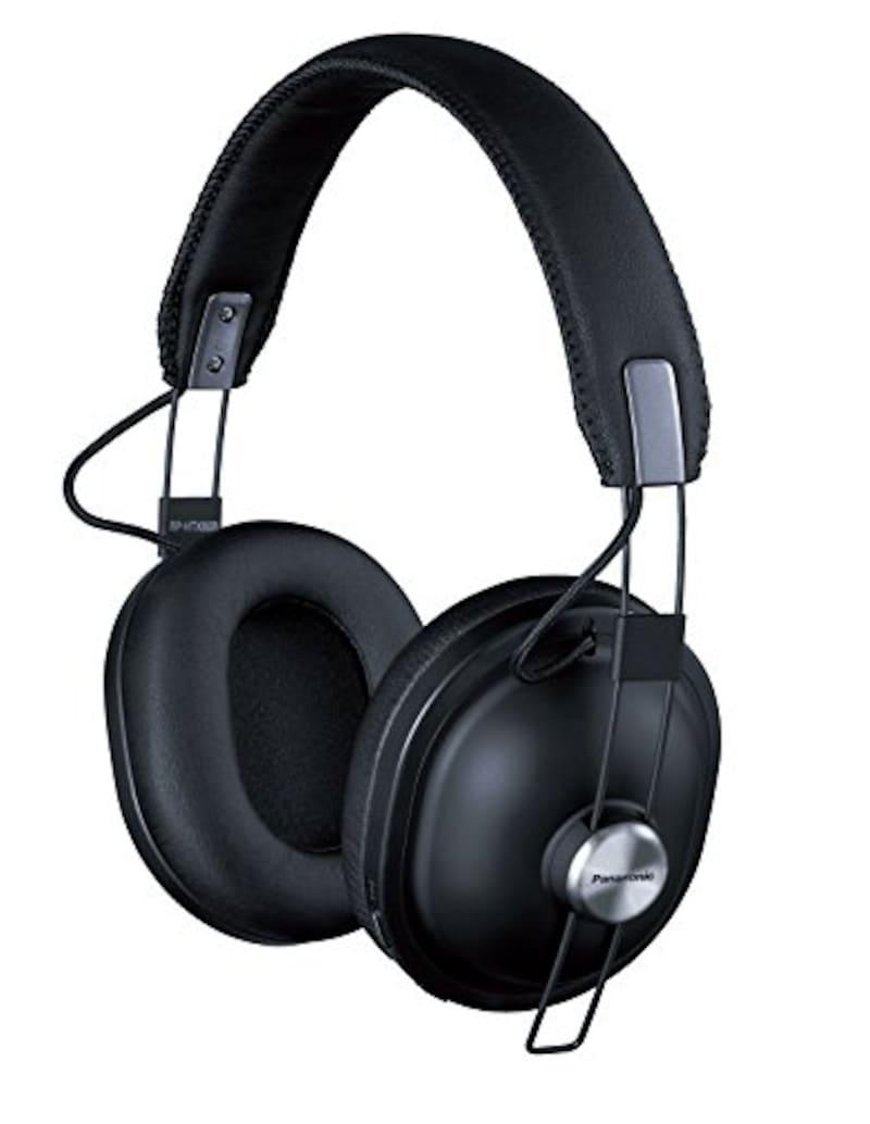 Panasonic,ワイヤレスステレオヘッドホン,RP-HTX80B-K