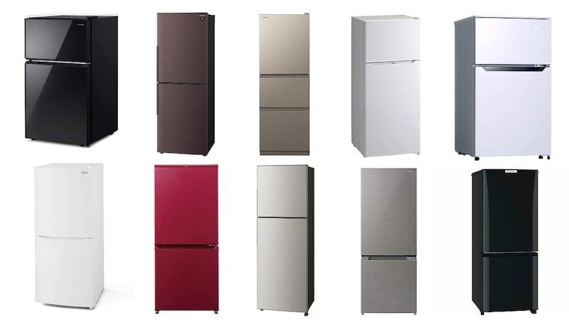 【2021年】一人暮らし向け冷蔵庫おすすめ25選|200Lサイズも!容量別ランキングで人気製品を紹介