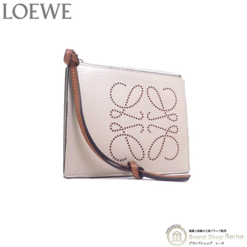 LOEWE(ロエベ),アナグラム ブランド コイン カードホルダー,C500O37X01