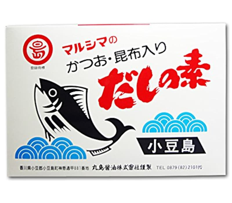 丸島醤油 ,マルシマのかつお・昆布入り だしの素