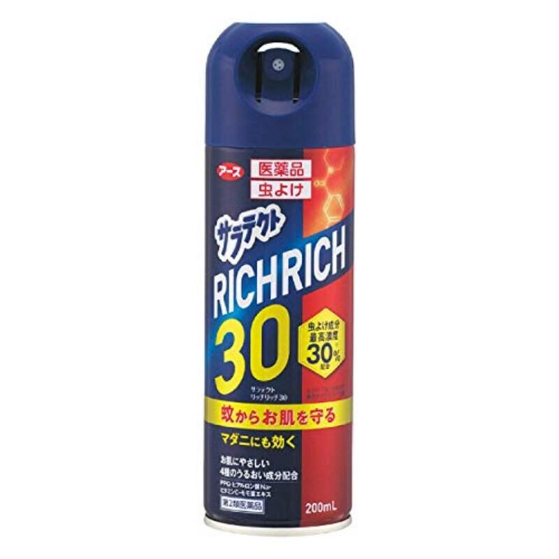 サラテクト(アース),【第2類医薬品】医薬品 サラテクト リッチリッチ30