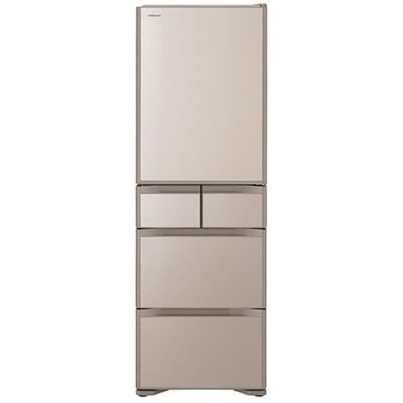 HITACHI(日立),5ドア冷蔵庫 新鮮スリープ野菜室搭載,R-S40N