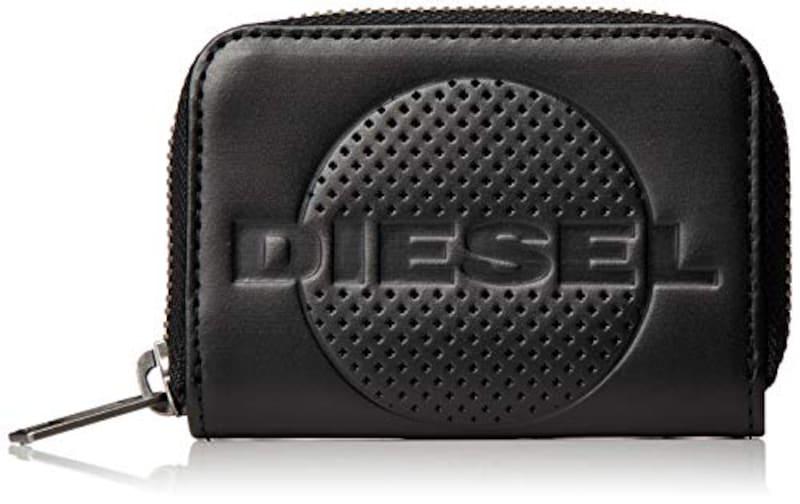 DIESEL(ディーゼル),メンズ レザー ジップ付き コインポーチ,X06653PR160