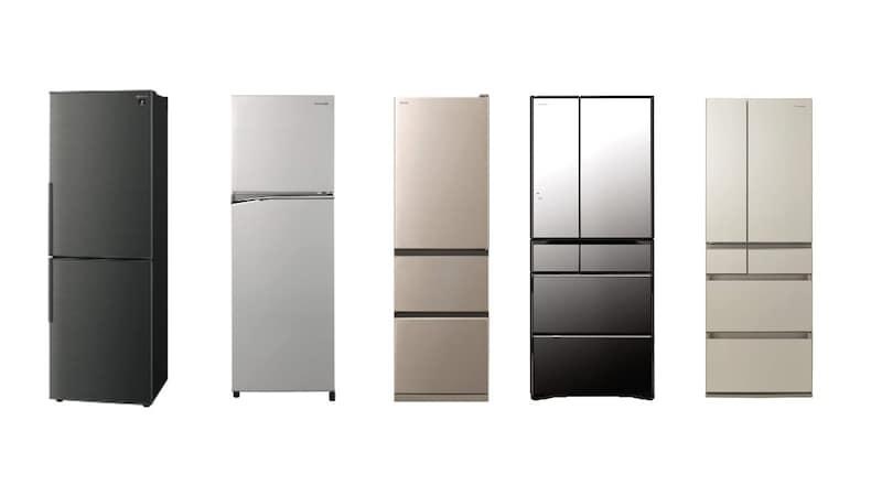 【2021年】二人暮らし向け冷蔵庫おすすめ15選|300L~400Lなど容量別に紹介!相場やコスパに優れたモデルも!