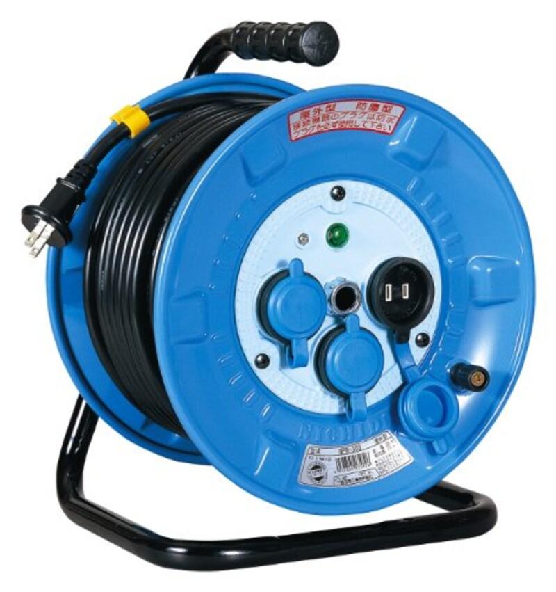 日動工業,防雨防塵電工ドラム,NPW-203S