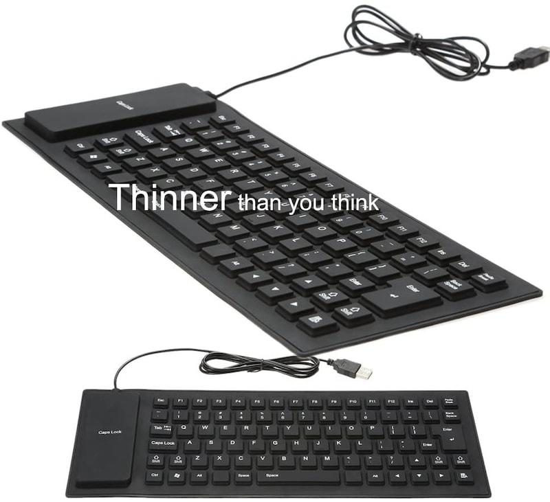 KKmoon,シリコンキーボード