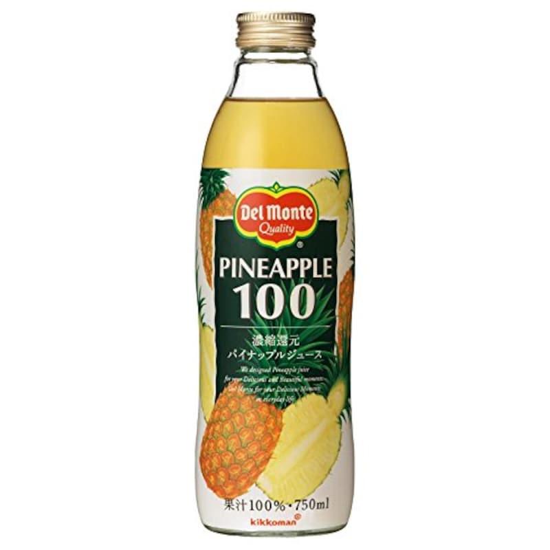 キッコーマン飲料,デルモンテ パイナップルジュース 750ml