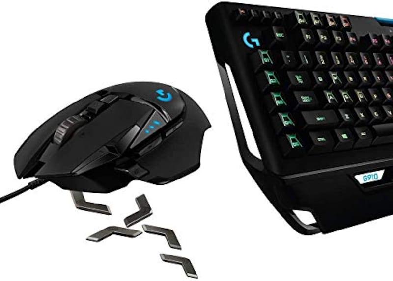 LogicoolG(ロジクールG),ゲーミングマウス/ゲーミングキーボードセット G502RGBhr + G910r,G502RGBhr+G910r