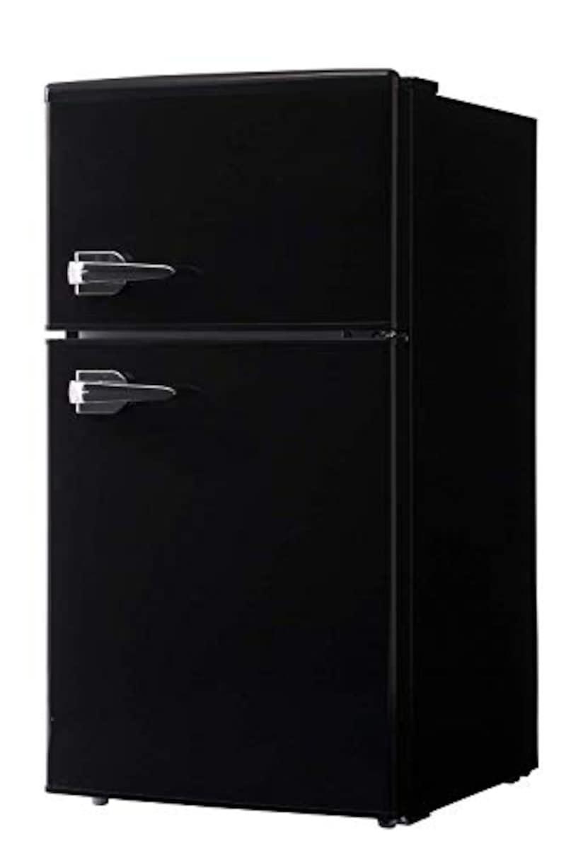Rikomendo(リコメンドウ),レトロ冷蔵庫,W3-sp-rt85l2