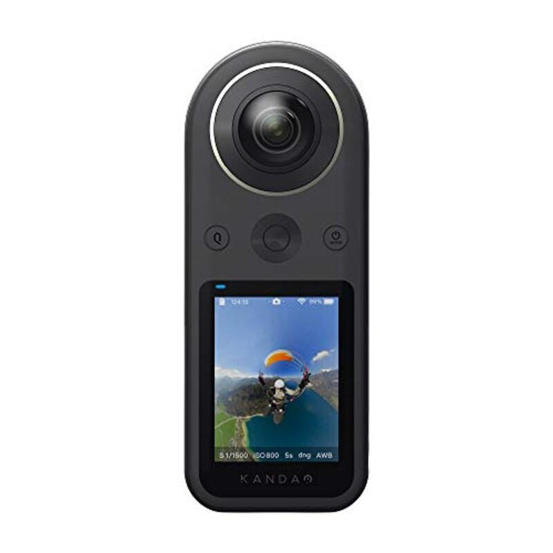 KanDao,QooCam 8K ポケットに収まる超小型360度カメラ,Qoocam8K