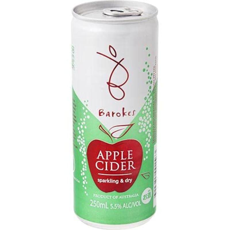 バロークス(Barokes),シードル りんごの缶ワイン