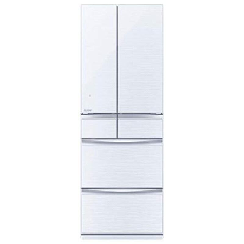 MITSUBISHI ELECTRIC(三菱電機),455L 6ドアノンフロン冷蔵庫,MR-MX46F-W