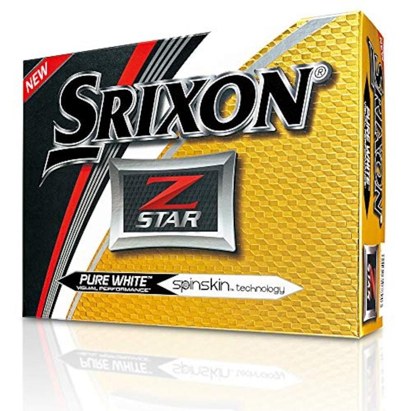 SRIXON(スリクソン),ゴルフボール Z-Star(ゼットスター),10242069