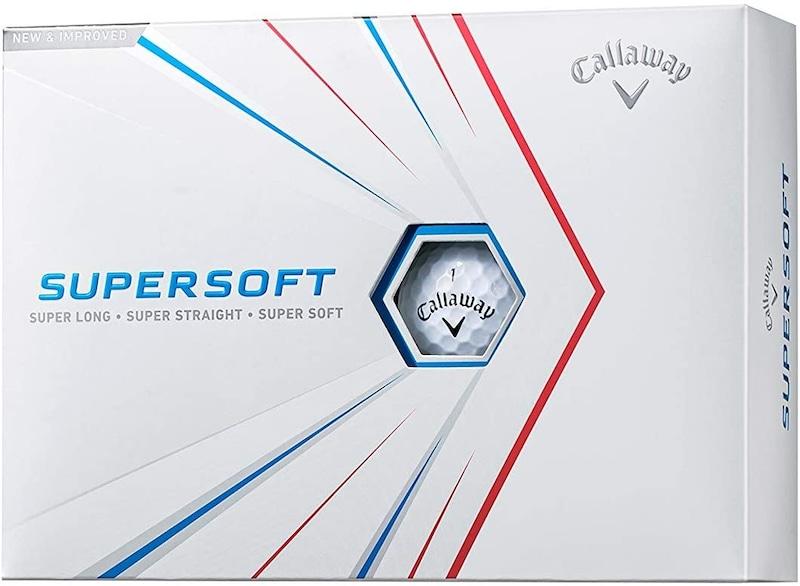 Callaway(キャロウェイ),ゴルフボール SUPERSOFT 2021