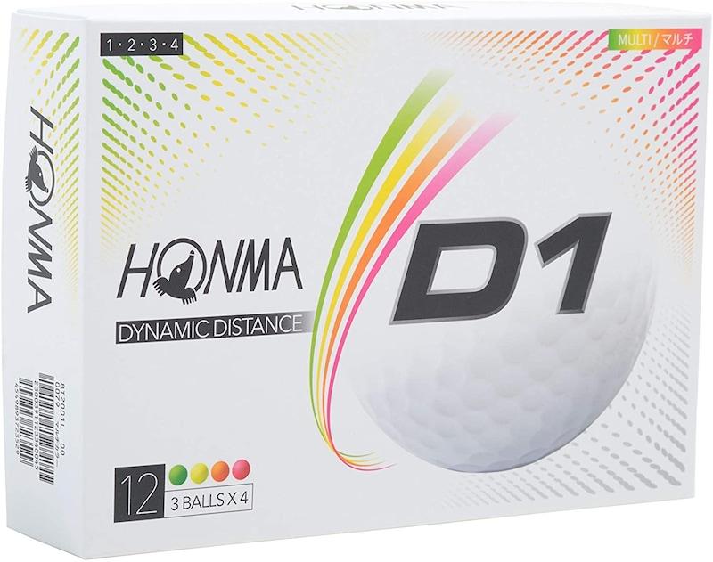 本間ゴルフ ,ゴルフボール D1,BT2001L
