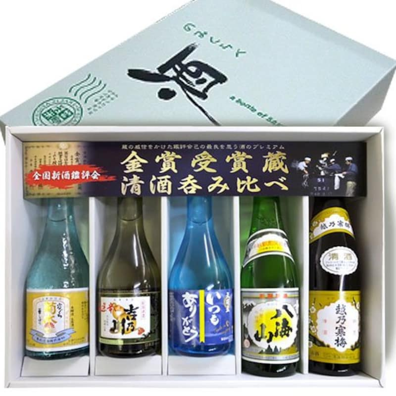 越乃寒梅,日本酒 飲み比べセット 5本